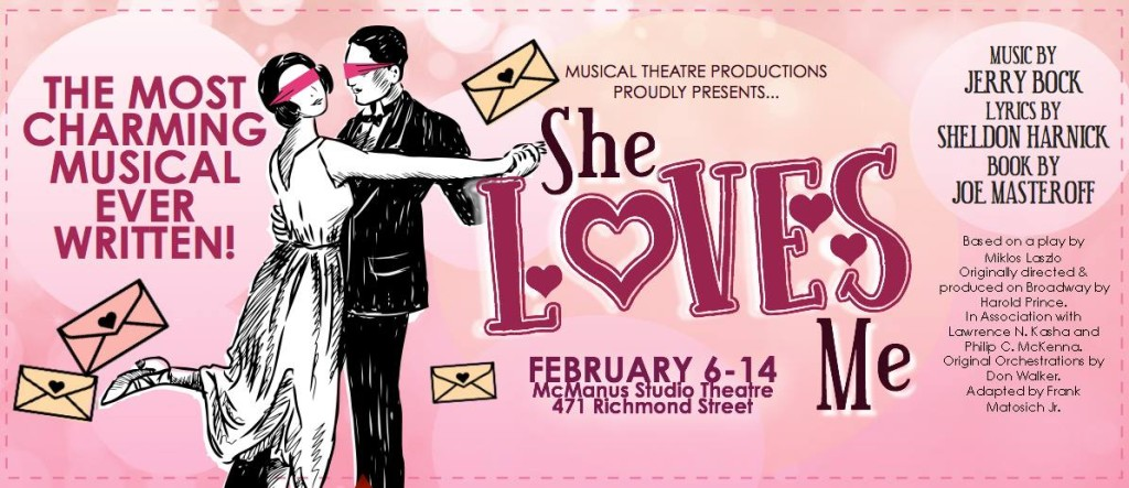 She Loves Me - Coming in February!