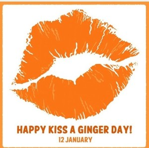 Kiss a Ginger Day!