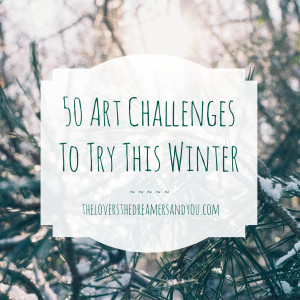 50-art-challenges-to-try-this-winter